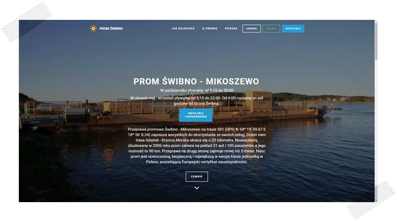 Prom Świbno - Mikoszewo